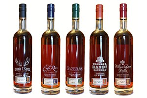 The Buffalo Trace Antique Collection. Image courtesy Buffalo Trace.