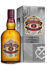 Chivas Regal 12 Year Old's new packaging. Image courtesy Chivas Brothers.