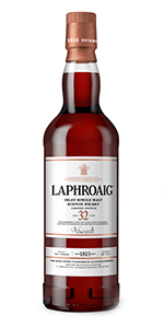 Laphroaig 32-Year-Old Islay Single Malt. Image courtesy Beam Suntory.