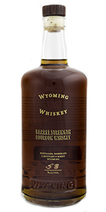 Wyoming Whiskey Barrel Strength Bourbon. Photo ©2015 by Mark Gillespie.