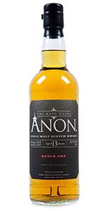 Abbey Whisky Anon. Batch 1. Image courtesy Abbey Whisky.