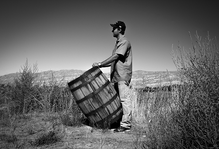 Wyoming Whiskey Head Distiller Sam Mead. Photo ©2015 by Mark Gillespie.