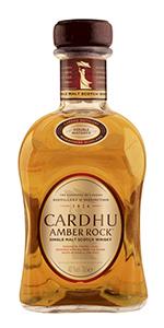 Cardhu Amber Rock Single Malt Scotch Whisky. Image courtesy Diageo.