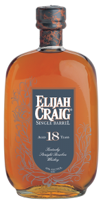 Elijah Craig 18 Year Old Single Barrel Bourbon. Image courtesy Heaven Hill.