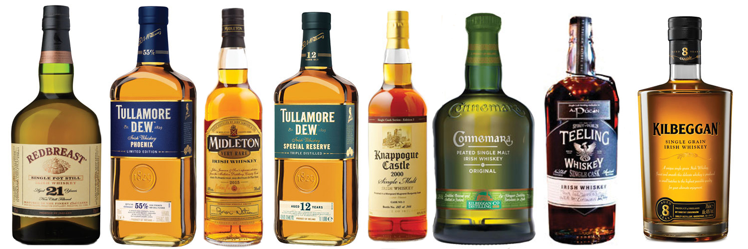 The 2015 Winners in the Irish Whiskey Awards. Photos courtesy Irish Whiskey Awards