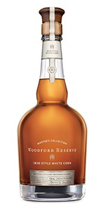 Woodford Reserve Masters Collection 1838 Style White Corn Bourbon. Image courtesy Woodford Reserve.