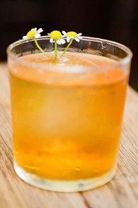 Naren Young's Chamomile Old Fashioned. Image courtesy Wild Turkey.