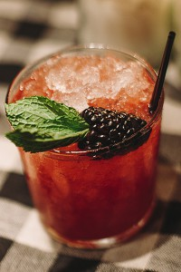 Upland's Kentucky Sunset Cocktail. Image courtesy Wild Turkey.