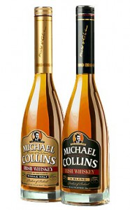 Michael Collins Irish Whiskey's original packaging. Image courtesy Southern Wine & Spirits.