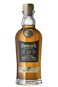 Dewar's 30 Ne Plus Ultra Blended Scotch Whisky. Image courtesy Dewar's.
