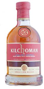 Kilchoman 2009 PX Single Cask. Image courtesy Abbey Whisky,