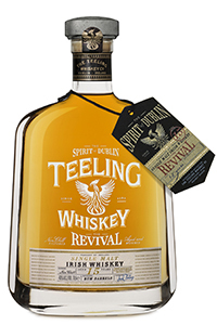 Teeling Whiskey Company's Revival Irish single malt whiskey. Image courtesy Teeling Whiskey Company.