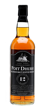 Poit Dhubh 12 Year Old Blended Malt Scotch Whisky. Image courtesy Pràban na Linne Ltd.