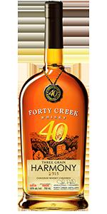 Forty Creek Three Grain Harmony. Image courtesy Forty Creek Distillery.