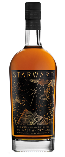 Starward Single Malt Whisky, Image courtesy Starward/New World Whisky Distillery.