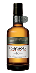 Longmorn 16 Year Old Single Malt Scotch Whisky. Image courtesy Chivas Brothers.
