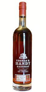 Thomas H. Handy Sazerac Rye 2015 Edition. Image courtesy Buffalo Trace.