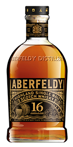 Aberfeldy 16 Years Old. Image courtesy John Dewar & Sons,/Bacardi.