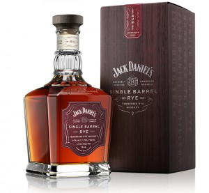 Jack Daniel's Single Barrel Rye. Image courtesy Jack Daniel's/Brown-Forman.