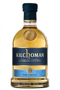 Kilchoman 2008 Vintage. Image courtesy Kilchoman Distillery.