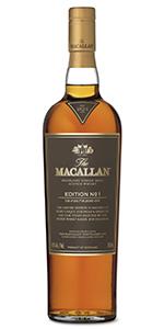The Macallan Edition No. 1. Image courtesy The Macallan/Edrington.
