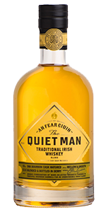 The Quiet Man Traditional Irish Whiskey. Image courtesy Niche Drinks/Luxco.