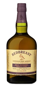 Redbreast All Sherry Single Cask. Image courtesy Irish Distillers Pernod Ricard.