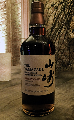 Suntory's Yamazaki Sherry Cask 2016 Edition. Photo ©2016 by Mark Gillespie.