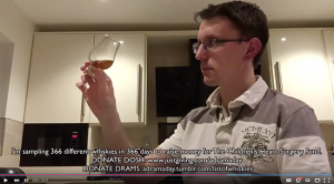 "One of Ben Bowers's ""A Dram a Day"" videos. Image courtesy YouTube."