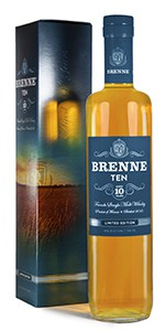 Brenne 10 Years Old French Single Malt Whisky. Photo courtesy Local Infusions, LLC.