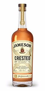 Jameson Crested Irish Whiskey. Image courtesy Irish Distillers.