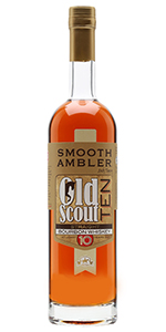 Old Scout 10 Year Old Bourbon. Image courtesy Smooth Ambler.