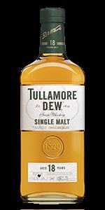 Tullamore D.E.W. 18 Irish Single Malt. Image courtesy William Grant & Sons.