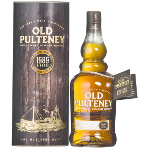 Old Pulteney 1989 Vintage Single Malt Scotch Whisky. Image courtesy Old Pulteney/International Beverage.