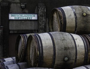 Casks to be filled at Islay's Bruichladdich Distillery. Photo ©2011 by Mark Gillespie.