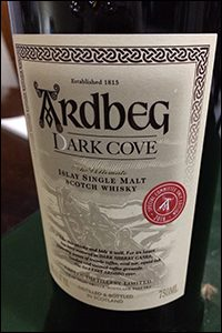 Ardbeg Dark Cove 2016 Committee Edition. Photo ©2016 by Mark Gillespie.