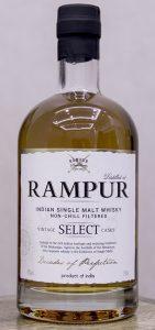Rampur Indian Single Malt Whisky. Photo ©2016, Mark Gillespie.