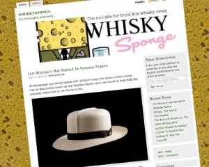 The Whisky Sponge Blog. Image courtesy The Whisky Sponge.