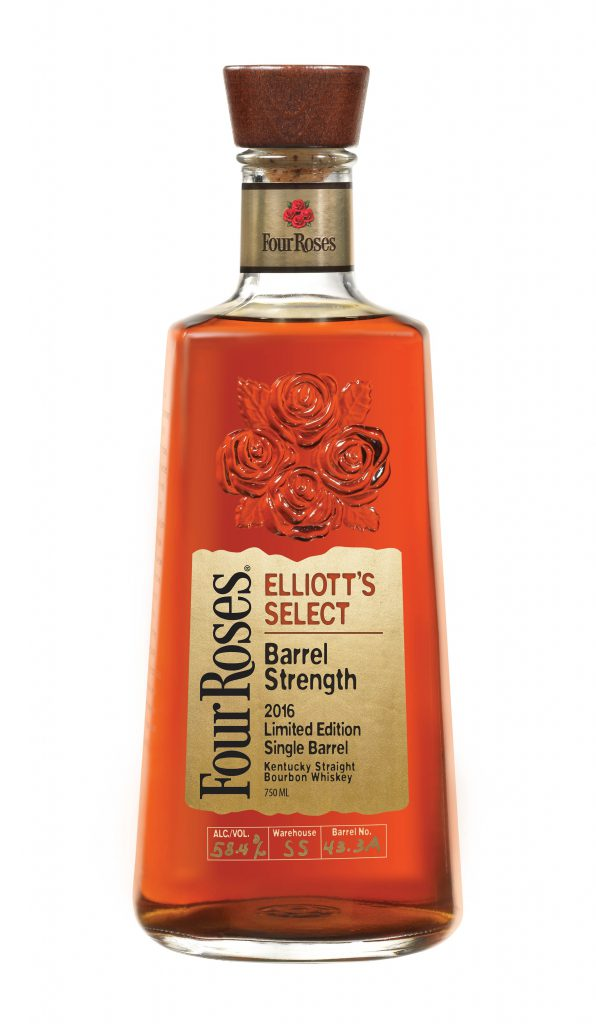 Four Roses Elliott's Select Bourbon. Image courtesy Four Roses.