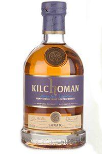 Kilchoman Sanaig Islay Single Malt. Image courtesy Kilchoman Distillery.