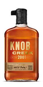 Knob Creek 2001 Vintage. Image courtesy Beam Suntory.