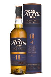 Arran 18 Single Malt Scotch Whisky. Image courtesy Arran.