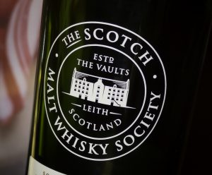 A Scotch Malt Whisky Society bottle. Photo ©2016, Mark Gillespie, CaskStrength Media.