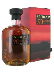 The Balblair 1990 Vintage Highland Single Malt Whisky. Image courtesy Balblair/Inver House.