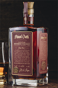Blood Oath Bourbon Pact #2. Image courtesy Luxco.