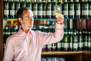 """Flavour Behaviour"" test creator Adam Moore, Ph.D.. Photo courtesy Scotch Malt Whisky Society."