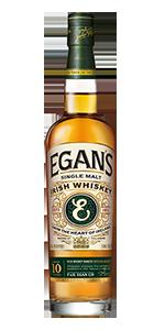 Egan's Irish Whiskey. Image courtesy P&H Egan Ltd.