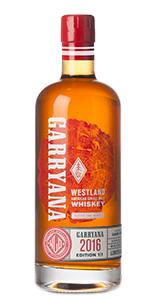 Westland Garryana Single Malt. Image courtesy Westland Distillery.
