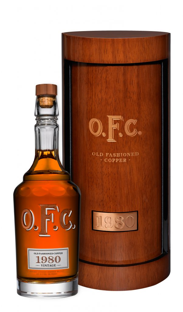 The 1980 Vintage O.F.C. Bourbon. Image courtesy Buffalo Trace.
