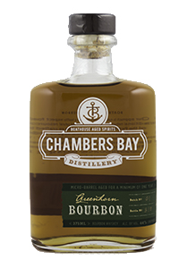 Chambers Bay Greenhorn Bourbon. Photo ©2016, Mark Gillespie/CaskStrength Media.